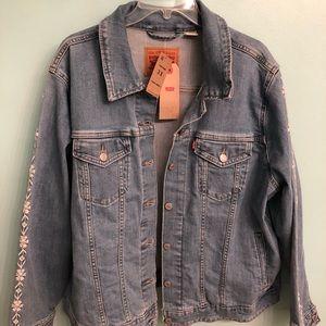 Levi denim woman's jacket